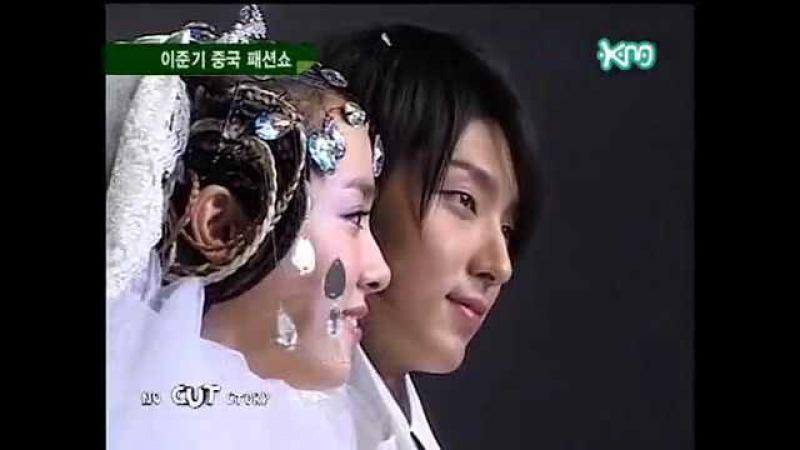 2006 Andre Kim's Fashion show in China - Lee Jun Ki, Han Ji Min