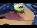 Варианты покрытия кожи воском Видео для клиентов Вощение кожаных изделий фини dfhbfyns gjrhsnbz rj b djcrjv dbltj lkz rkb