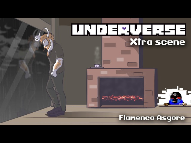 Underverse Xtra Scene OST Flamenco Asgore