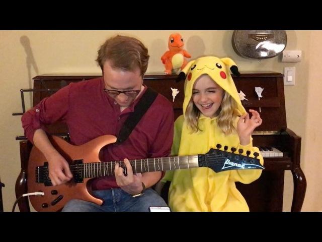 """Mckenna Grace on Instagram: """"Gotta Catch Em All Pokémon! @tannergburge Pikachu Pokemon pokémon PokemonIChooseYou pokemongo Kawaii (Link in bi..."""