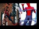 Фото со съёмок человек паук возвращение домой