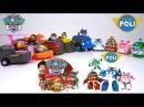 ⭐ ROBOCAR POLI 🚔 PAW PATROL 🐶 Мультики про машинки🚓 роботы трансформеры Игрушки для детей