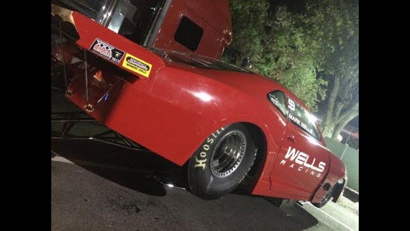 Поездка на драг трек. Тест Кобры. Ford Cobra Test 'n Tune Drag Racing