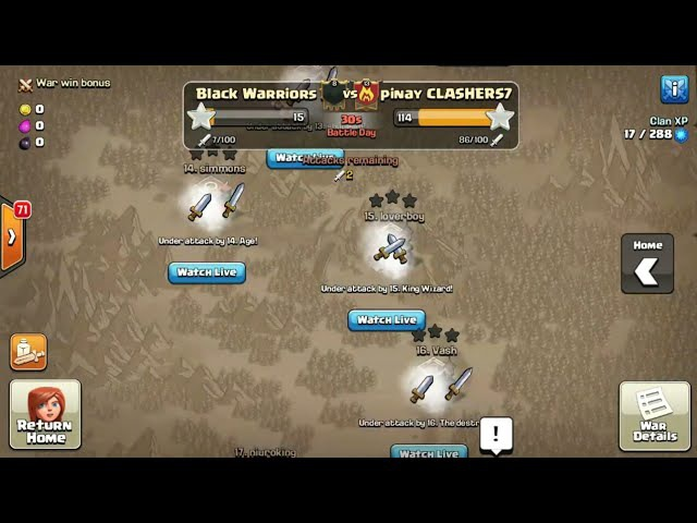 50 ATTACKS AT LAST MINUTE OF THE WAR | 1 MINUTE CLAN WAR EVENT | TROLL-EST WAR EVER IN COC | 8