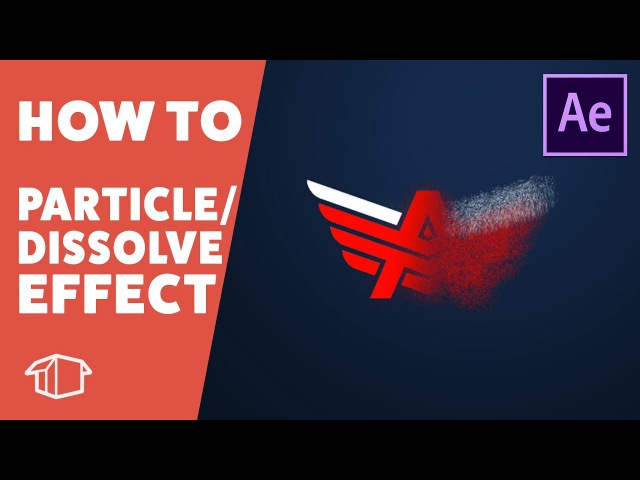 How to make a Logo Scatter and Particle Explosion effect - Adobe After Effects CS6 (No Plugins)