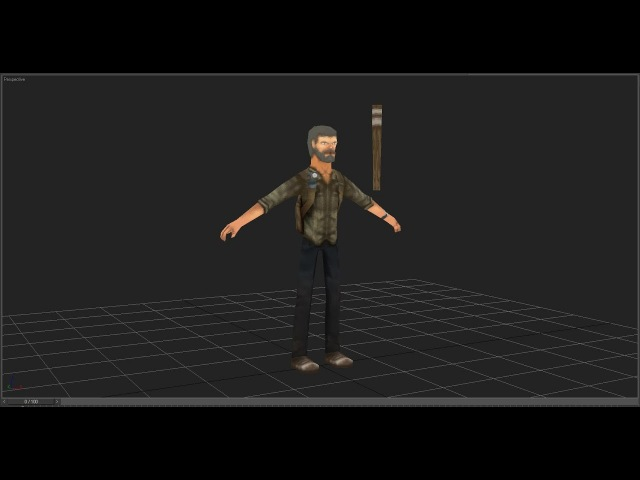 LowPoly Character Modeling TimeLapse