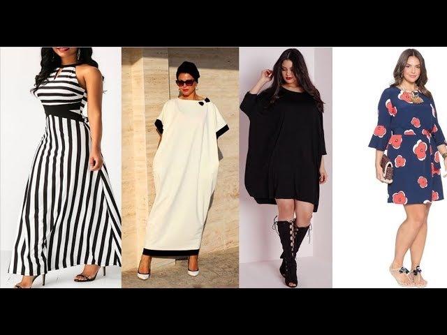 ПЛАТЬЯ 2018 ДЛЯ ПОЛНЫХ ВЕСНА-ЛЕТО WOMEN DRESSES PLUS SIZE Trends