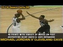 Michael Jordan Scores An Easy 40 Points And Toys Ricky Davis Cavs @ Wizards 01 24 2002