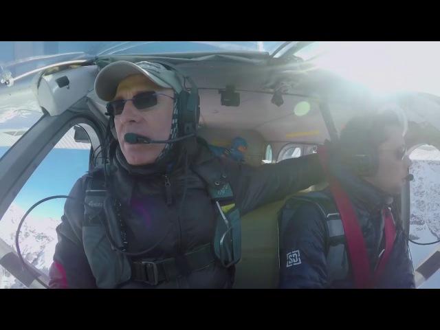 Французские бейсджамперы залетели в движущийся самолет на скорости 140 кмч