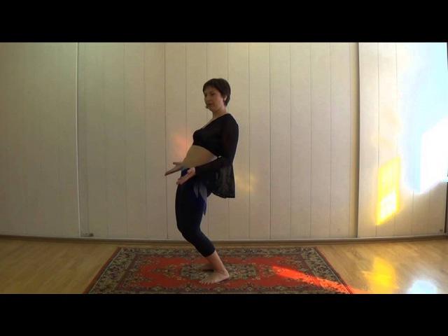 Как научиться делать волну. Уроки танца живота. Волна тазом. Belly dance. Танцы