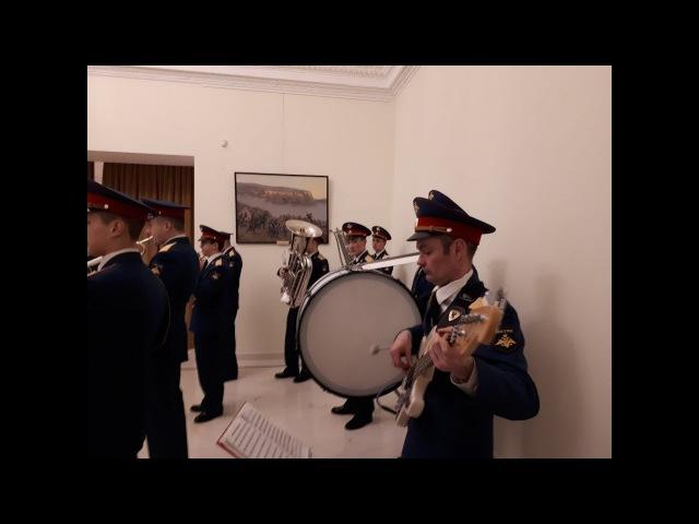 День защитника Отечества оркестр Московского гарнизона