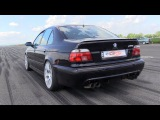 SUPERCHARGED BMW M5 E39 with 950HP - 271,96 km/h in 1/2 Mile Run!!