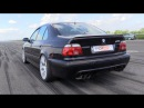 SUPERCHARGED BMW M5 E39 with 950HP 271 96 km h in 1 2 Mile Run