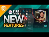 NEW FIFA MOBILE FEATURE UPDATE! SBC FIRST LOOK & MORE!!!
