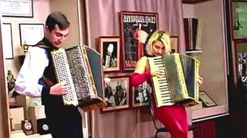 ╰❥ Цыганские мелодии╰❥ Виртуозное, потрясающее исполнение! Gypsy melodies duo accordion!