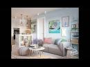 Дизайн светлой 3 комнатной квартиры 70 кв м