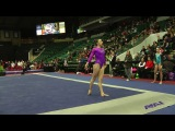 Irina Alexeeva Floor - 2018 WOGA Classic