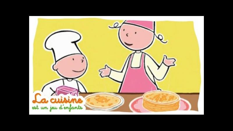 Crêpes - La cuisine est un jeu d'enfants