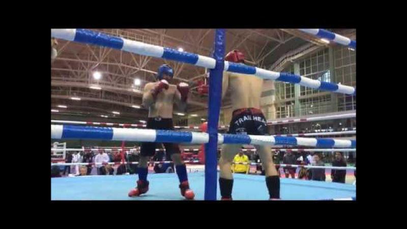 Danil Vinnik, Russia(blue corner) vs Igor Makoedov, Ukraine (red corner) 30.11.17- 04.12.17 Minsk