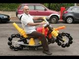 How to make a balloon motorcycle by Barak Dagan