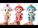 Fingerlings Monkey интерактивная ручная игрушка обезьянка