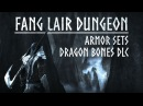 ESO Dragon Bones - Fang Lair Dungeon Armor Set Overview - The Elder Scrolls Online