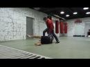 Тренировка по боевому самбо, отработка бросков из стойки.