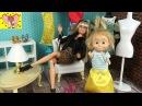ЗА ПЛАТЬЯМИ Шоппинг с Дженнифер Мама Барби Маша и Медведь Мультфильм КуклыБарб