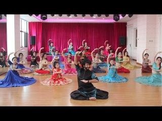 Bollywood- Kathak- BollyJazz Workshop in Beijing, China by Devesh Mirchandani (Showreel)