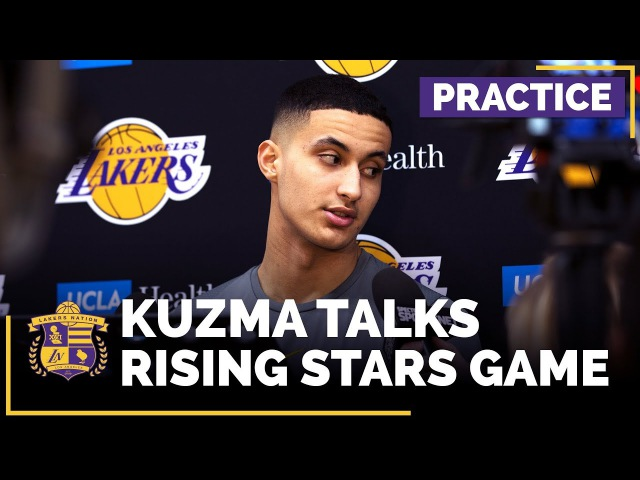 Kyle Kuzma On Making NBA Rising Stars Game: 'I'm not necessarily supposed to be here'