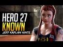 Overwatch HERO 27 KNOWN ALREADY says Jeff Kaplan Top Candidates Breakdown