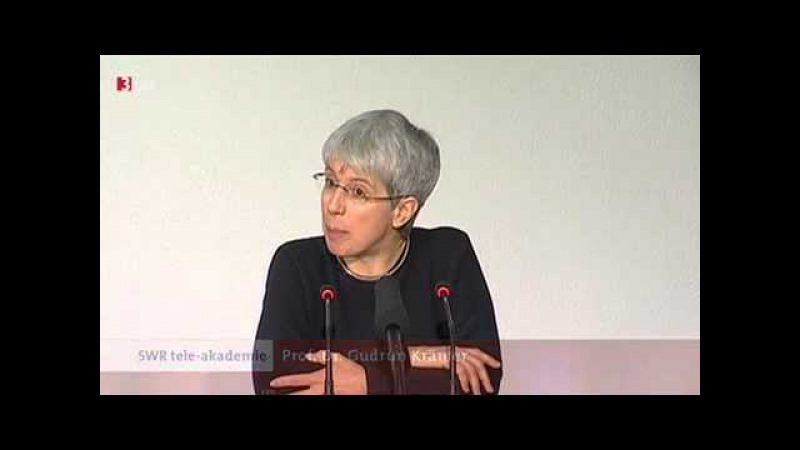 Teleakademie Prof Dr Gudrun Krämer Der Islam 3SAT Vortrag