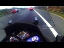 Yamaha majesty s 125 highway massive headwind lamax x6 camera