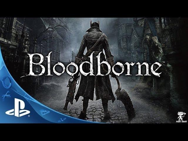 BloodBorne: 16 part6 Тень Ярнама (Shadow of Yharnam),Ром, Праздный Паук (Rom, the Vacuous Spider)