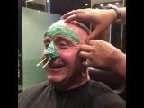 WAXING LIKE A SHREK  Мастер класс Шугаринг Ваксинг лицо уши нос Чистка лица