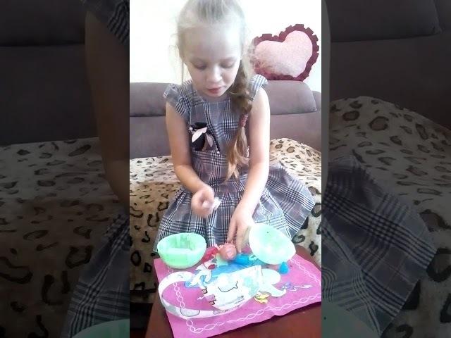 Про лялю. Маргоша Костина с куклой LOL