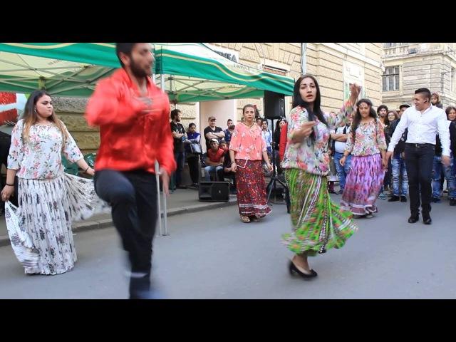 Cigány tánc II. rész, Dans tiganesc, partea II-a - KolozsvárCluj, 2016. április 23.
