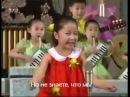 Дети из Северной Кореи поют про ядерную бомбу, и то как ее сбросят