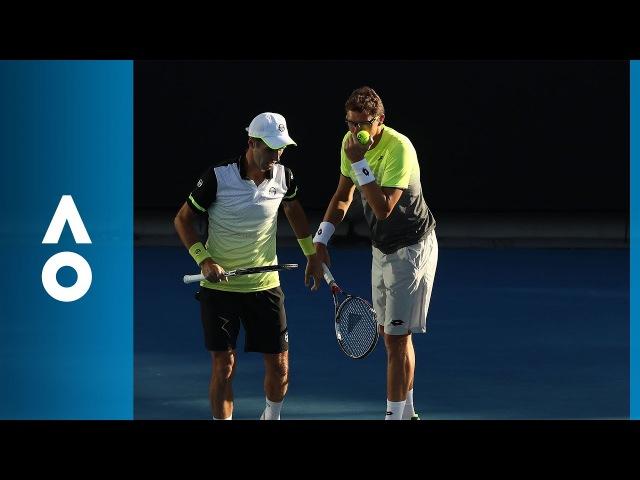 Andujar/Ramos-Vinolas v Groth/Hewitt match highlights (3R) | Australian Open 2018