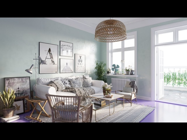 Architectural Visualizations Nice Living Room 026 renderings using Corona 1.7 for 3ds max 2018