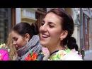 Кришнаиты танцуют и поют на радость Москвичам