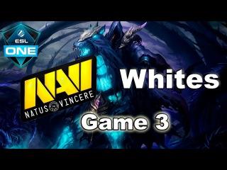 NaVi vs Whites (Game 3) ESL One Genting 2018 Dota 2
