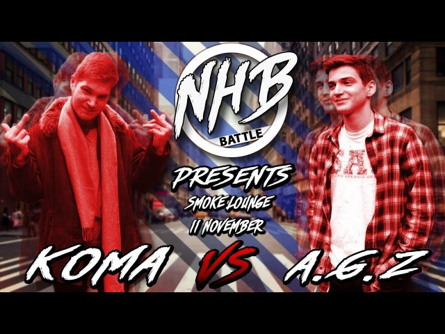 NHB BPM battle 4   KOMA X A.G.Z