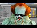Pennywise The Singing Clown ft. Bill Skarsgard, (IT Movie 2017)