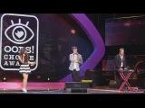 Алексей Воробьев на премии Oops Choice Awards 2014 - награждение и выступление с группой ФрендЫ