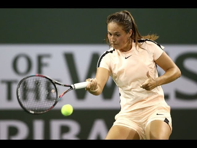 2018 Indian Wells Fourth Round   Daria Kasatkina vs. Caroline Wozniacki   WTA Highlights