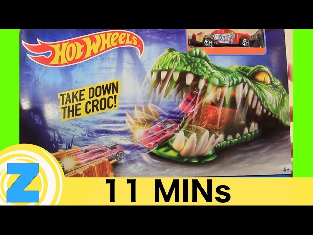 NEW Crocodile Crunch Hot Wheels Unboxing! Mater Gets Munched! Zippy Kids 5