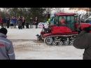 Гусеничный трактор против колесного кто кого