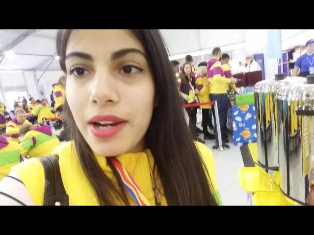 VLOG ВФМС 2 деньЭкипировка Кастинг в Мюзикл Церемония открытия