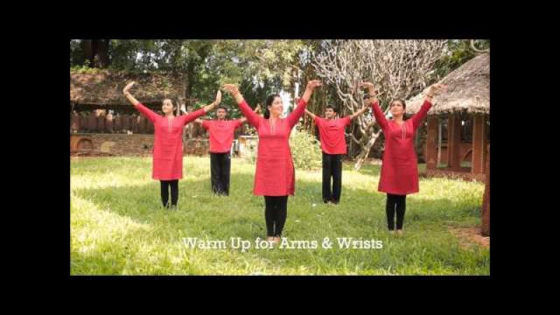 30 Sec Exercise for Arms And Wrists - Natya Aerobics Dance Exercise